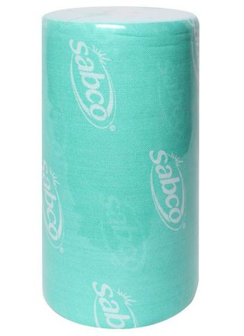 Sabco Heavy Duty Wipes - 90 Sheet Roll Green