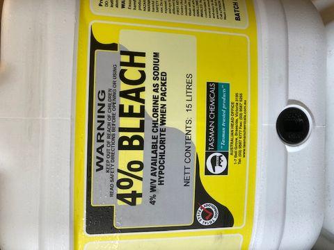 Tasman Bleach 4% 15ltr
