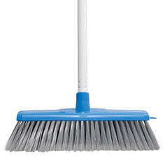 Classic Plus Ultimate Indoor Broom - Blue