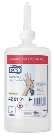 S1Tork Alcohol Gel Hand Sanitiser Premium 6 X 1LT