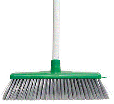 Classic Plus Ultimate Indoor Broom - Green