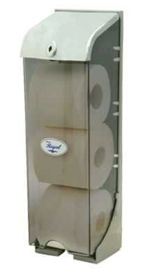 Regal Toilet Roll Triple Dispenser - TR3-DPS
