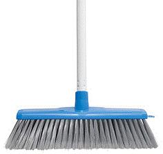 Classic Plus Ultimate Indoor Broom W/H - Blue