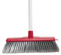 Classic Plus Ultimate Indoor Broom W/H - Red