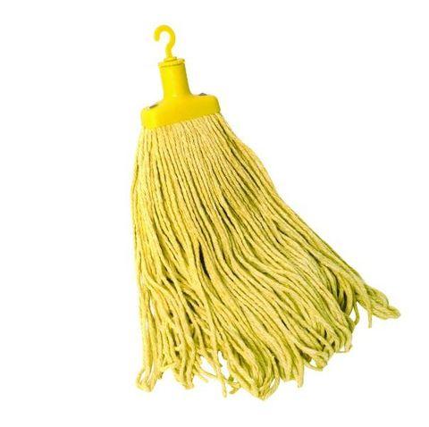 Sabco Contractor Cotton Mop 4oogm - Yellow