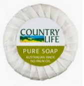 Country Life Wrapped Guest Soap 15g x 500