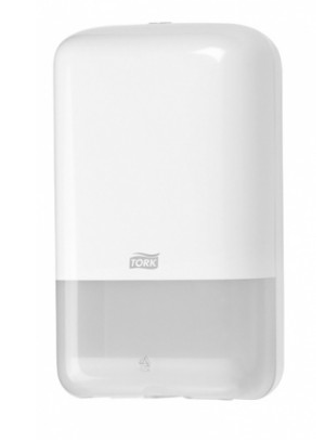 Tork Folded Toilet Sanitiser Dispenser White T3