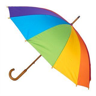 Rainbow; 12 Rib Woodshaft, Hndle, Windpr