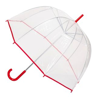 4410 DOME SHAPE PVC WITH TRIM  RED