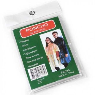 SET OF 12 ASSORTED PONCHO