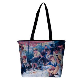 Renoir Boating Party; Tote Bag