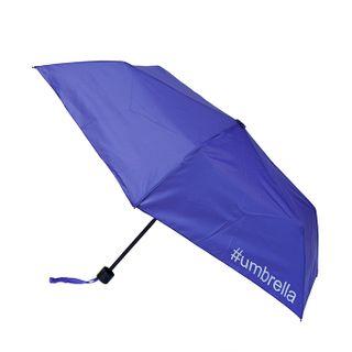 Slim #umbrella with printed on 3 panels