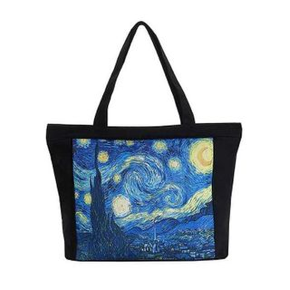 Van Gogh Starry Night; Tote Bag