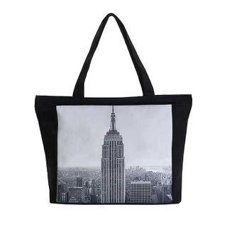 New York Panorama; Tote Bag