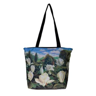 Magnolia; Tote Bag