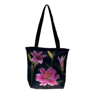 Stargazer Lilies; Tote Bag