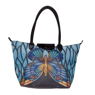 Tiffany Butterfly; Tote Bag