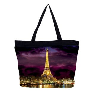 Paris Lights; Tote Bag