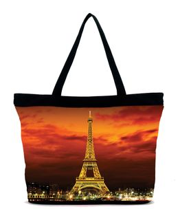 Paris City of Lights Tote Bag