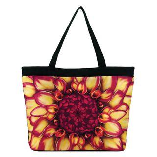 Dahlia; Tote Bag