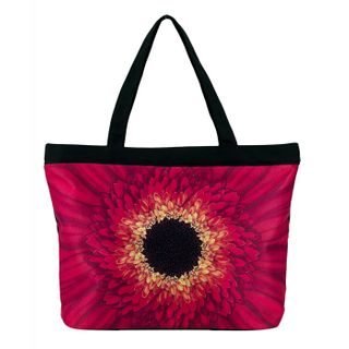Red Daisy; Tote Bag