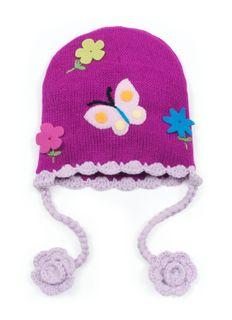 BUTTERFLY BEANIE HAT