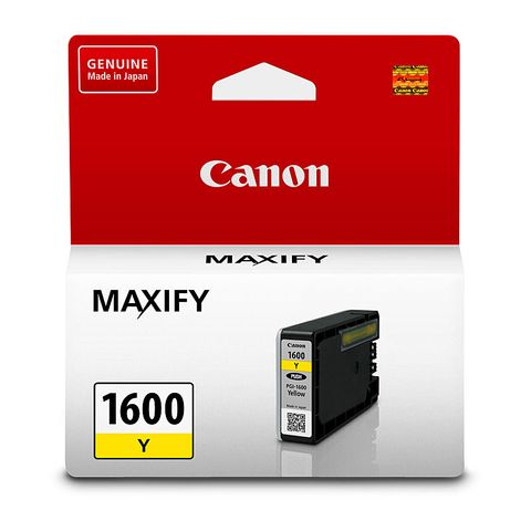 CANON PGI1600Y YELLOW INK TANK 300 Pages