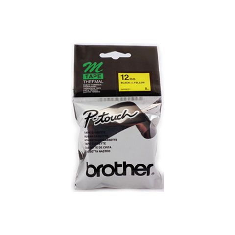 DYN-MK631 MK631 BROTHER MK631 LABELLING TAPE - BLACK ON YELLOW M TAPE 12MM- CQS15