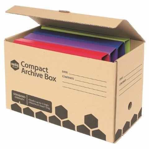 MARBIG ENVIRO ARCHIVE BOX COMPACT -CQS9 - 9312311157788
