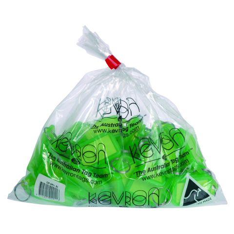 KEVRON KEY TAGS ID5 GREEN BAG 50 -CQS19 - 9314221000116