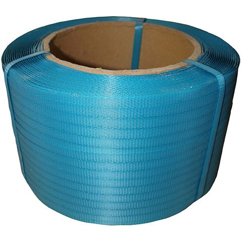 POLY STRAPPING 12MM BLUE 1000M