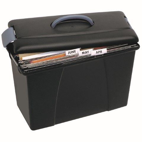 CRYSTALFILE CARRY CASE BLACK -CQS9 - 9312311800837