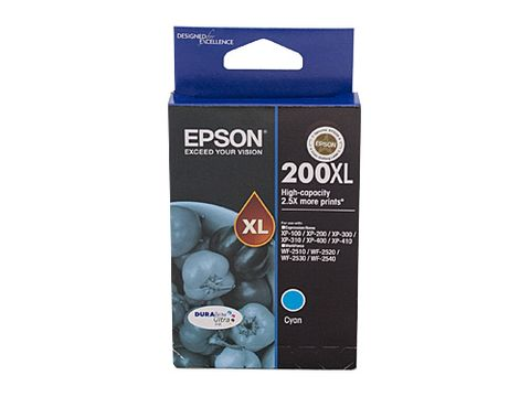 DYN-C13T201292 EPSON 200 HY CYAN INK CARTRIDGE - 450 PAGES - CQS1