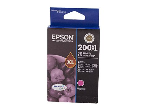 DYN-C13T201392 EPSON 200 HY MAGENTA INK CARTRIDGE - 450 PAGES  - CQS1