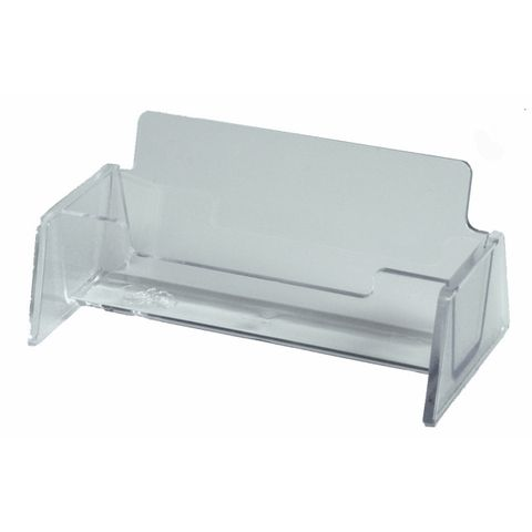 ESSELTE SWS BUSINESS CARD HOLDER CLEAR -CQS17 - 9310715920625