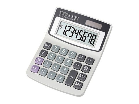 DYN-LS82ZBL CANON LS82ZBL CALCULATOR - CQS6