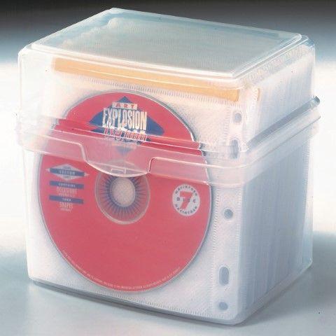 KENSINGTON CD/DVD SLEEVES PACK OF 50-cqs19 - 9312311244402