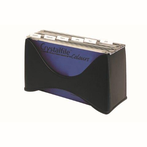 CRYSTALFILE ENVIRO PORTA BOX DESKTOP FILER -CQS9 - 9312311818504