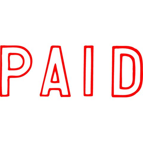 1005 PAID RED XSTAMPER-cqs9 - 4974052902208