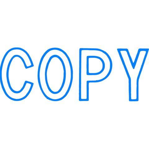 1006 COPY BLUE XSTAMPER-cqs9 - 4974052902215