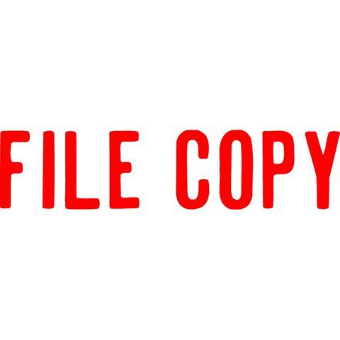 1071 FILE COPY RED XSTAMPER-cqs9 - 4974052903526