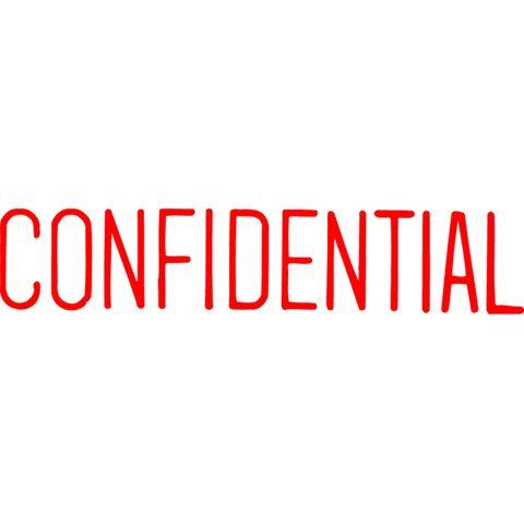 1130 CONFIDENTIAL RED XSTAMPER-cqs9 - 4974052915604
