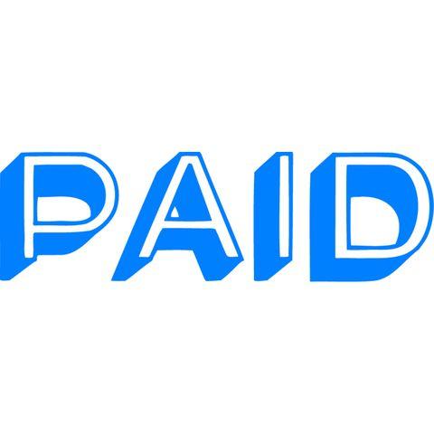 1357 PAID BLUE XSTAMPER-cqs9 - 4974052964053