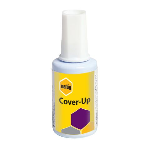 MARBIG CORRECTION FLUID COVER UP 20ML -CQS19 - 9312311890005