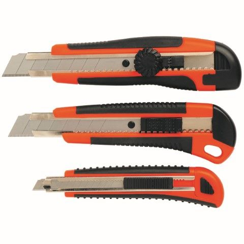 MARBIG CUTTER CUTTER KNIFE BLADES MEDIUM PK 6 -CQS19 - 9312311222264