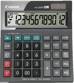 DYN-AS220RTS CANON AS220RTS CALCULATOR
