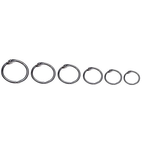 ESSELTE HINGED RINGS No.6 25mm BX100  -CQS19 - 9310924310552