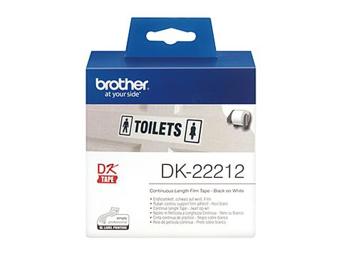 DYN-DK22212 BROTHER DK22212 WHITE ROLL - 62MM X 15.24M FILM ROLL - CQS15