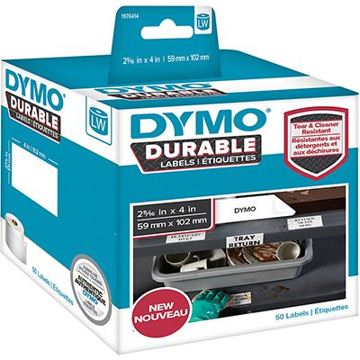 DYMO DURABLE LABELWRITER LABELS 25X25MM BX1700