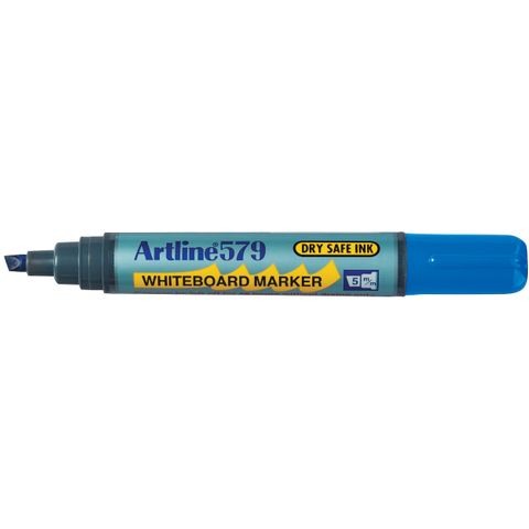 BLUE ARTLINE 579 WHITEBOARD MARKER 5MM CHISEL NIB -cqs13 - 4974052807190